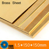 1 5 150 150mm Brass Sheet Plate Of CuZn40 2 036 CW509N C28000 C3712 H62 Customized
