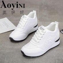 Г., весенне-осенняя модная повседневная обувь женская обувь на высокой платформе женские кроссовки на толстой подошве 11 см, обувь на платформе