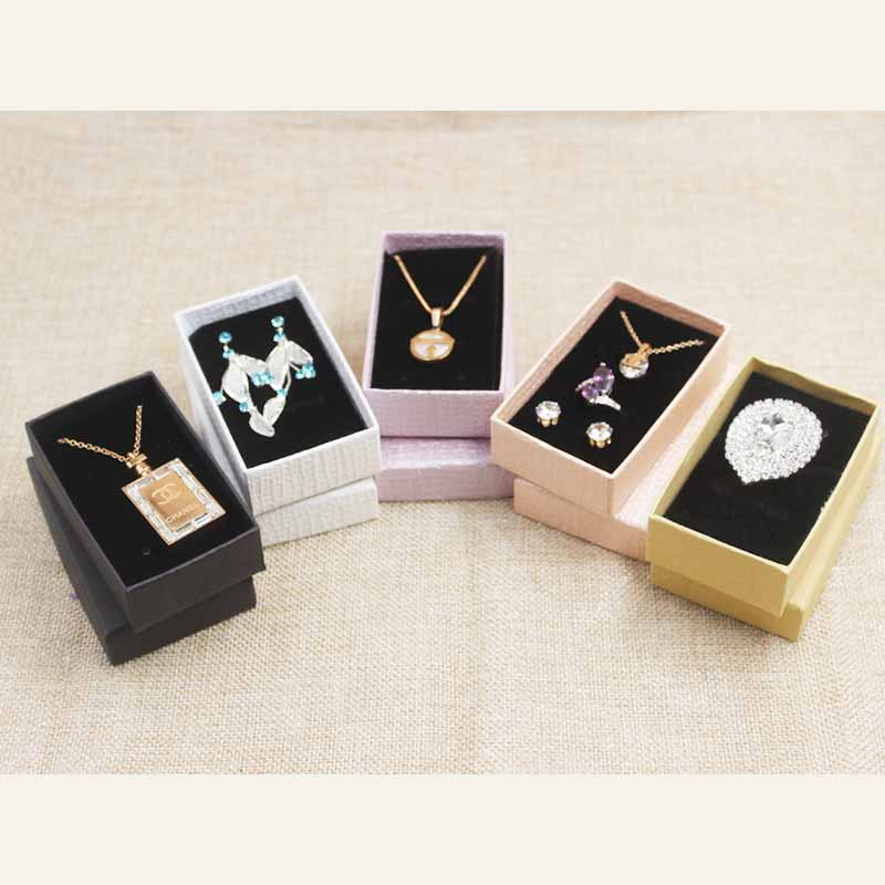 24PCS Multi Color Gift Box .Blank Jewelry Set Diaplay Box .Cardboard Jewelry Charm/bracelet /ring/necklace/earring Display Box
