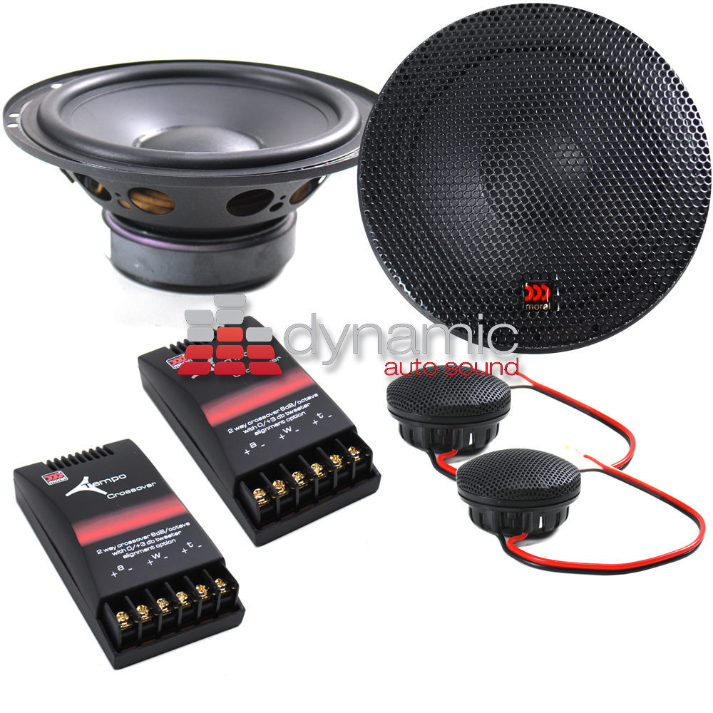 free shipping DHL MOREL TEMPO 6 Car Audio 6 5 Component