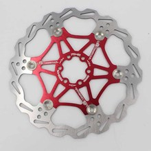 MTB Mountain Road Bike 160/180/203mm Disc Brake Floating Rotor Super Heat Dissipation Six Nails Floating Disc Brake Rotor fxcnc motorcycle brake disc 300mm floating front brake disc rotor for yamaha yzf r15 2015 motorbike front brake disc rotor