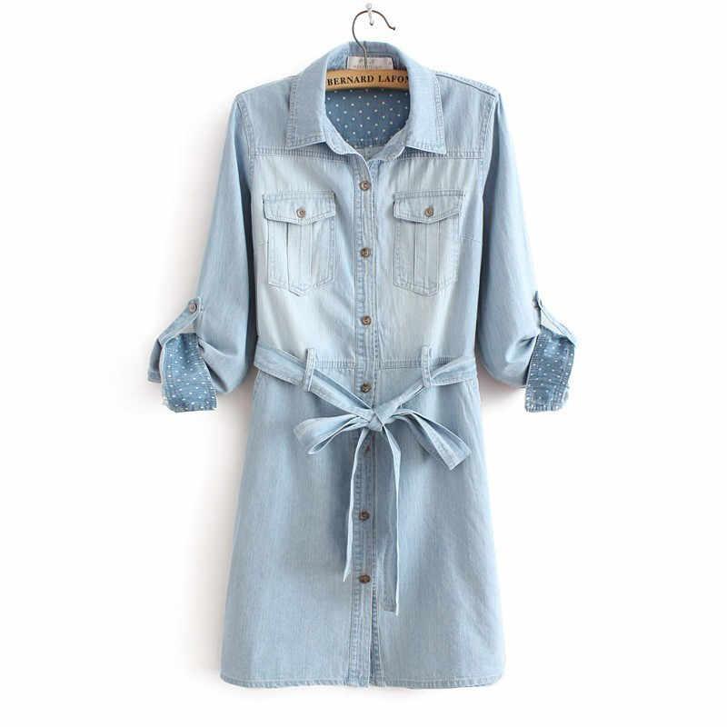 Европейское стильное милое джинсовое платье, новый стиль vestido, jurken, женское платье femme, джинсовое платье, платье выше колена для отдыха TT1221