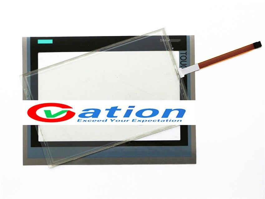 For 6AV2124-0UC02-0AX0 6AV2 124-0UC02-0AX0 Touch Screen + Protective film 6av2124 0qc02 0ax0 6av2 124 0qc02 0ax0 tp1500 touch screen