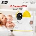 Novo Estilo de Sistema de Alarme Sem Fio Da Câmera Baby Monitor P2P Night Vision 1 Megapixel Câmera de Vigilância de Segurança Kit BW-IPC012Y