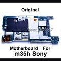 Alta qualidade original desbloqueado telefone motherboard para sony xperia sp m35h c5303, placa lógica mainboard com fichas completas