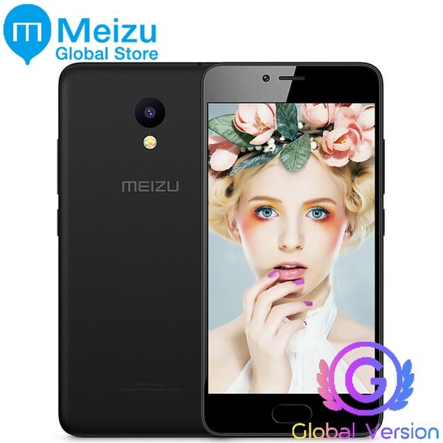 Оригинал Meizu m5c m710h глобальной версии 4 г LTE 2 ГБ 16 ГБ сотовый телефон mtk6737 4 ядра 64bit Processor 5.0 дюймовый HD IPS 3000 мАч