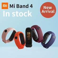 Newest 2019 Original Xiaomi Mi Band 4 Smart Color Screen Bracelet Heart Rate Fitness 135mAh Bluetooth5.0 50M Swimming Waterproof