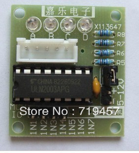 FREE SHIPPING 10PCS/LOT Driver Board Line Stepper Motor Driver Board Driver Board Uln2003 Test Board