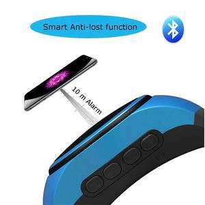 Image 4 - B20 smart watch z samowyzwalaczem Anti Lost Alarm muzyka Sport Mini głośnik wzmacniacz Bluetooth karty TF Radio FM ręce  bezpłatny przenośny