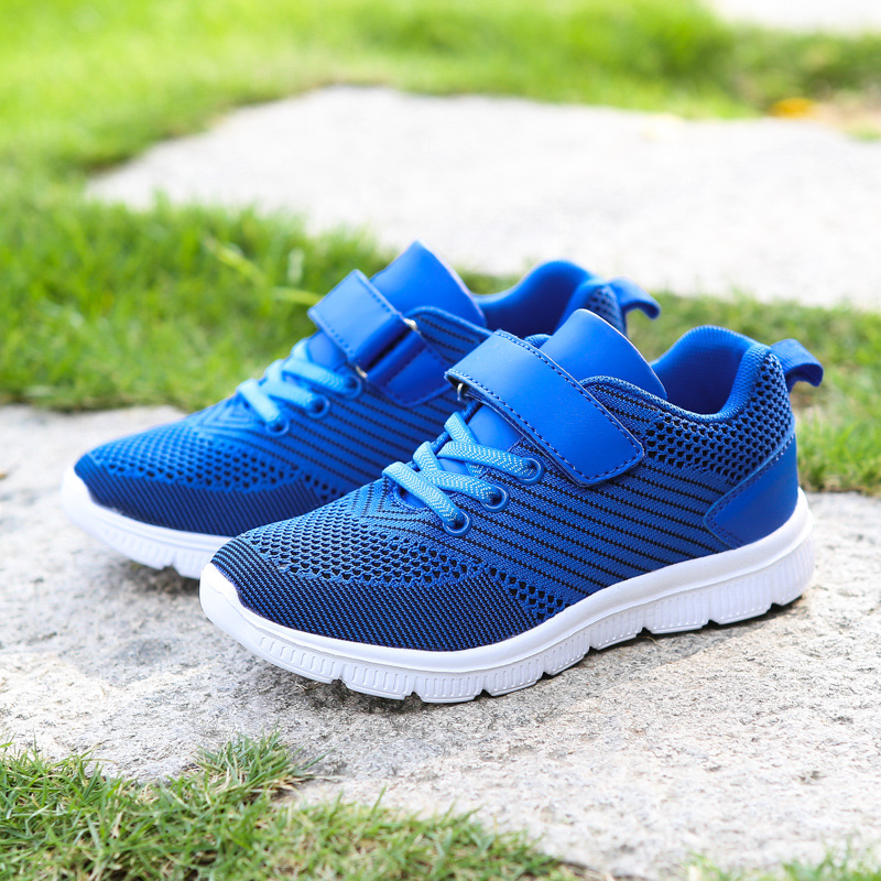Spring Autumn Campus Sports Children Shoes Boys Casual Sneaker Fashion School Kids Running Shoes for Girls Anti-Slippery Outdoor forudesigns kids sport shoes boys girls for children walking cycling running nebula pringting lace up sneaker shoes outdoor
