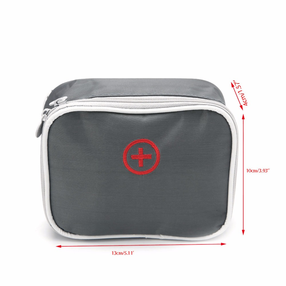 Thinkthendo Uni Portable Pink Grey Survival First Aid Medical Emergency Bag Medicine For Travel Home In Bags From Luggage On