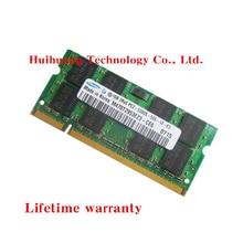 Пожизненная гарантия samsung DDR2 1 ГБ 667 МГц PC2-5300S DDR 2 1G ноутбук память ноутбук Оперативная память оригинальный 200PIN SODIMM