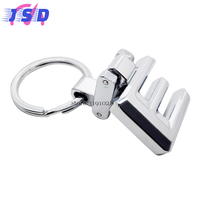 Car Accessories Key Chian Auto Stlying Key Holder For E Logo Stainless Steel Key Ring For