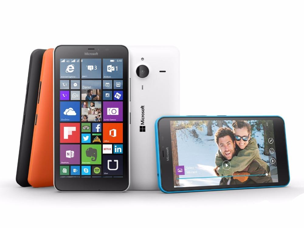 Refurbished Nokia Microsoft Lumia 640XL Quad-core 8GB ROM 1GB RAM 4G WIFI GPS 13MP 1080P smartphone dual sim card white 1