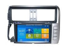 HD 2 din 8″ Car Radio DVD GPS Navigation for Toyota Prado 2010-2013 With USB Bluetooth IPOD TV USB SWC AUX IN