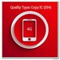 10 pçs/lote Testado Cópia IC Uma Qualidade Display de Tela para 4G Preto/Branco
