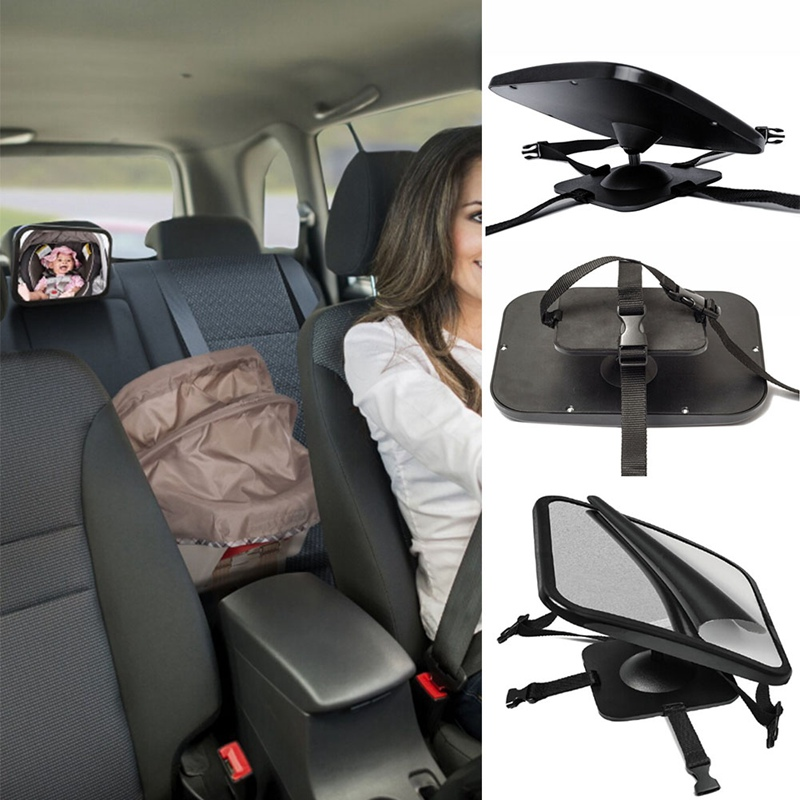 Adjustable Wide Car Rear Seat View Mirror Baby Child Seat Car Safety Mirror Monitor Headrest Car Interior Mirrors