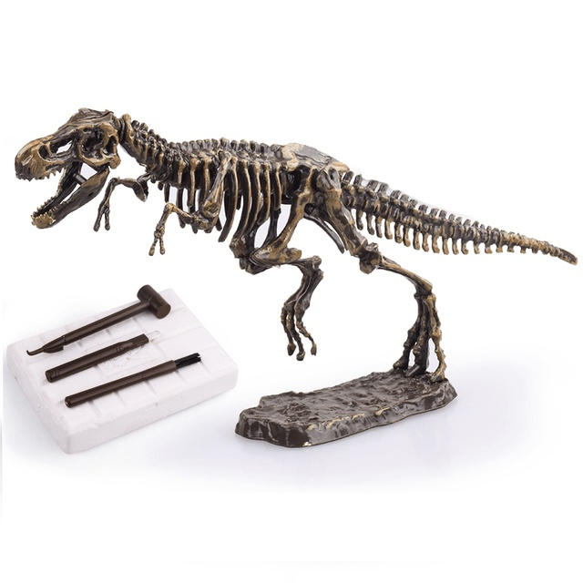 Dinosaur Science Kit Dig Up Dino Fossils and Assemble a T-Rex Skeleton, Mammoth,TriceratopsLearning & Education