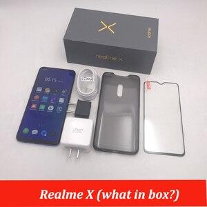 Image 5 - Realme × 4 4g lteキンギョソウ 710 オクタコア 6.53 インチ 4 ギガバイト 64 ギガバイト画面デュアルリアカメラ 3765 2600mahの携帯電話