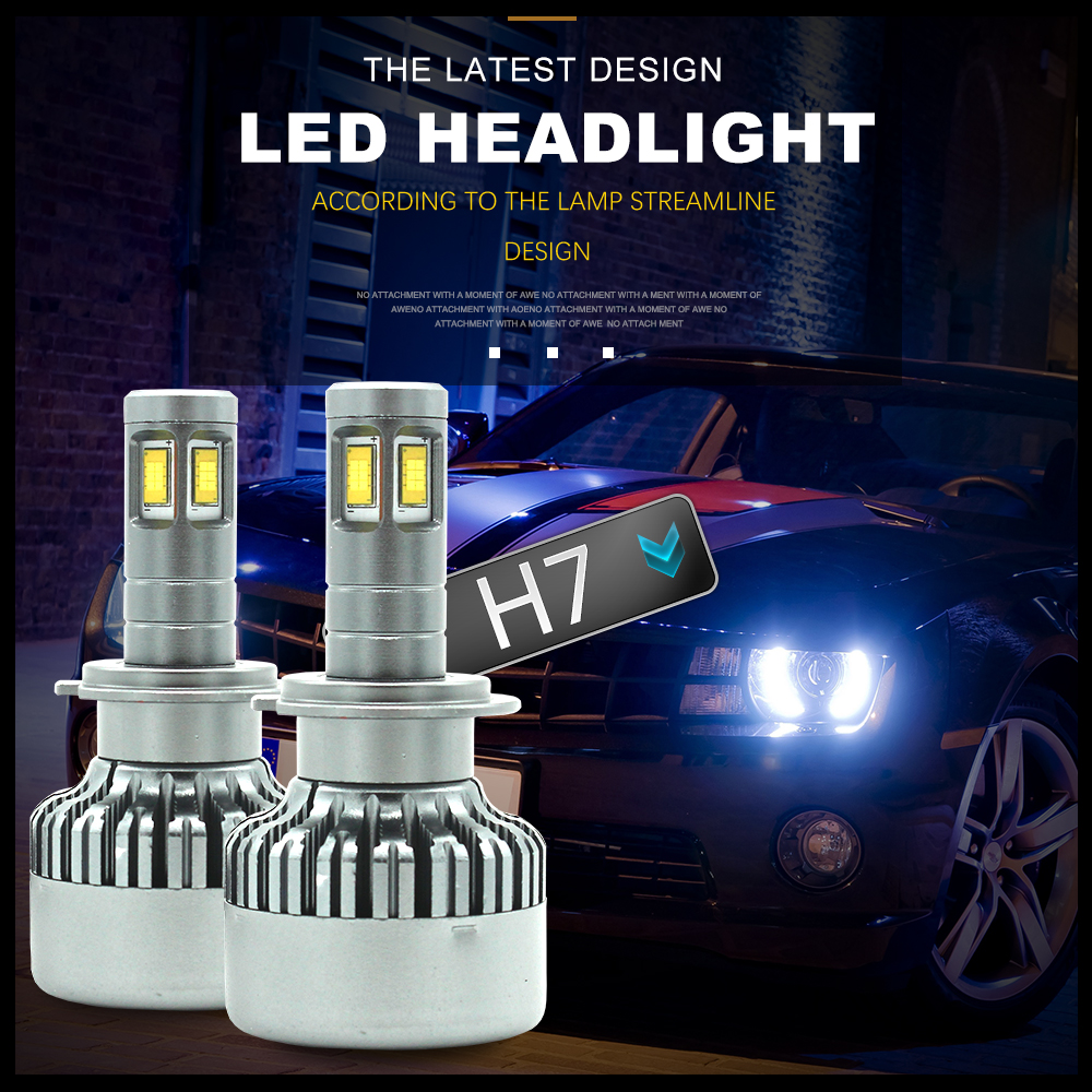 Modifygt V10 H7 <font><b>led</b></font> H4 <font><b>led</b></font> H11 <font><b>H15</b></font> 8000LM 100W 12V Car <font><b>led</b></font> bulb CSP Headlight canbus <font><b>no</b></font> <font><b>error</b></font> car accessories image