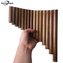 SevenAngel ручная работа правая рука 15 труб бамбуковая флейта ключ G деревянные флейты Xiao народные Музыкальные инструменты трубы Dizi