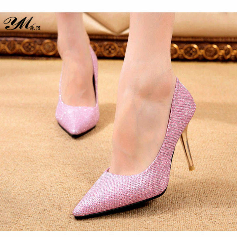 Women Pumps High Heels Shoes Women Sexy Ladies Shoes With Heels Wedding Shoes Pointed Toe High Heels zapatos mujer 2017 new spring summer shoes for women high heeled wedding pointed toe fashion women s pumps ladies zapatos mujer high heels 9cm