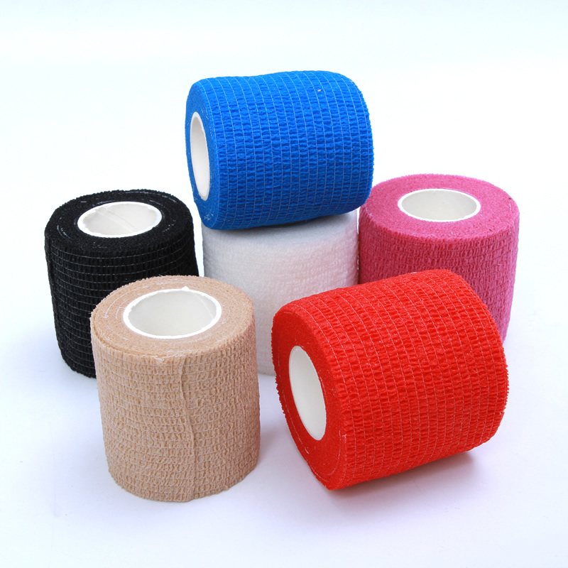 4.5M First Aid Security Protection Waterproof Self Adhesive Elastic Bandage  Bandages