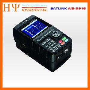 Image 3 - Originele Satlink Ws 6916 Satelliet Finder DVB S2 MPEG 2/MPEG 4 Satlink WS 6916 High Definition Satelliet Meter Tft Lcd scherm