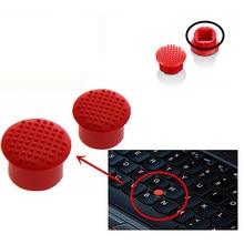 Novo trackpoint boné vermelho para lenovo thinkpad x60 x61 x200 x201i x220 x230 t410 t420 sl410k e40 mouse ponteiro boné vermelho