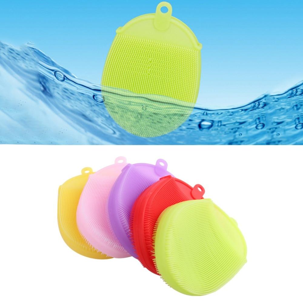 Soft Silicone Massage Scrub Gloves For Peeling Body Bath Brush Exfoliating Gloves Footbrush for the Bath Body Brush