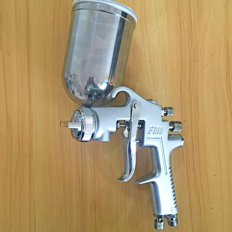 цена на SAT1264 professional high pressure airbrush spray paint gun spray gun for car painting
