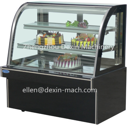 Curved Glass Commercial Bread Cake Display Showcase Refrigerator for Bakery and Supermarkets Display Cake Cabinet  sc 1 st  AliExpress.com & Curved Glass Commercial Bread Cake Display Showcase Refrigerator for ...
