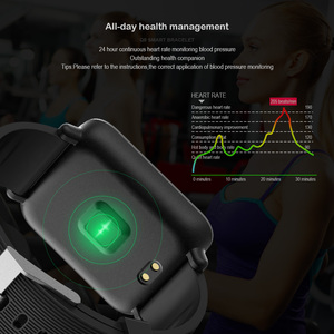 Image 5 - Q9 Blood Pressure Heart Rate Monitor Smart Watch IP67 Waterproof Sport Fitness Trakcer Watch Men Women Smartwatch