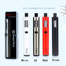 Original Kanger Evod Pro Starter Kit Top Filling with 4ml tank All in One Design support 18650 battery mod vape