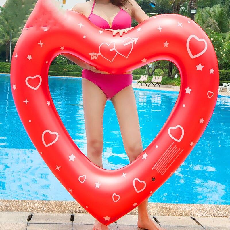 Baby & Kids' Floats Nett Frauen Aufblasbare Süße Herz Schwimmen Ringe Pool Runden Riesen Pool Party Rettungsring Float Matratze Schwimmen Kreis