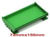 DIN Rail Mounting Carrier For 72mm X 150mm PCB Housing Bracket