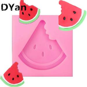 Fondant Silicone Watermelon Cake-Baking-Decoration Mold Chocolate-Mold DIY A1574 New-Product