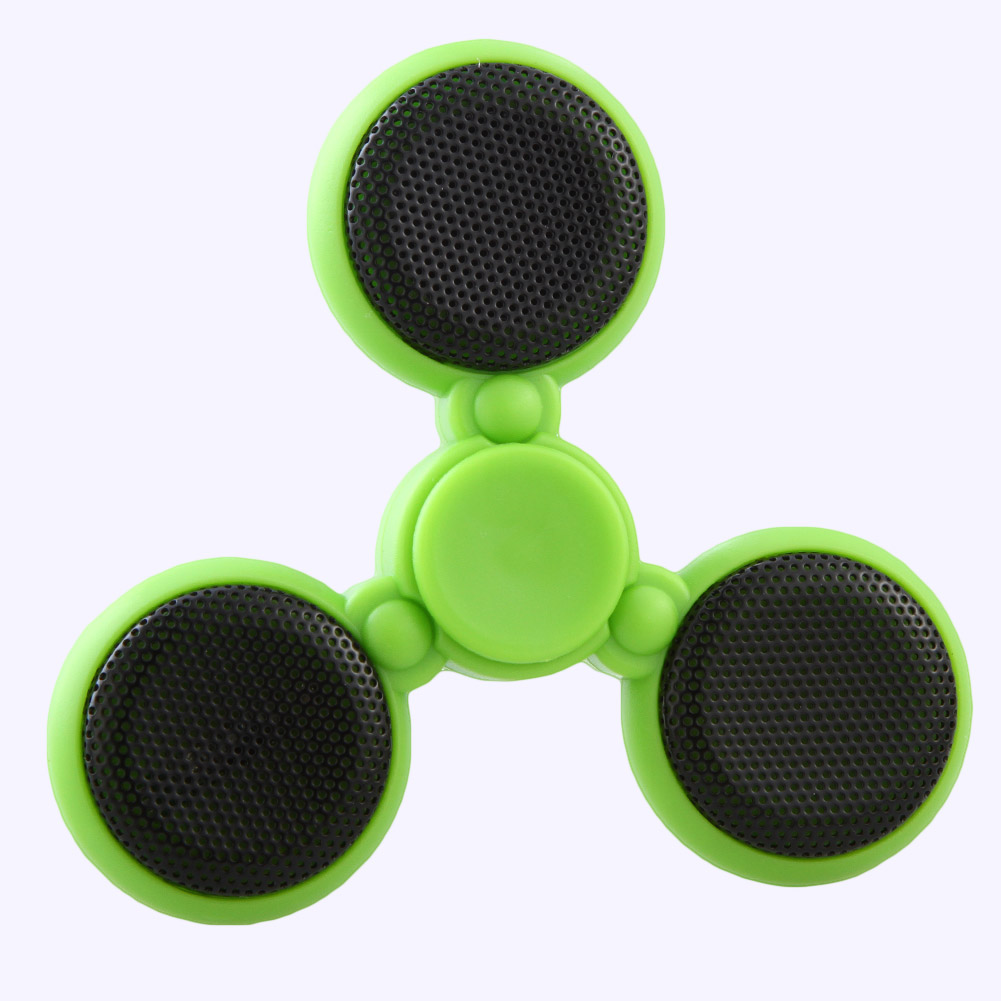 Wireless Bluetooth Speaker Spinner Hand Music Triangle Fingertip Gyro EDC Fidget For Autism ADHD Anxiety Stress