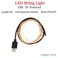 2m USB Copperpowered