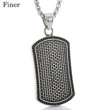 Silver Black Shield Pendant 316L Stainless Steel For Men High Quality Chain Necklace Jewelry Fashion Father's Day Gift Hip Hop 24 20mm 400g heavy huge 316l stainless steel silver motorcycle chain biker jewelry men s necklace fashion gift top quality