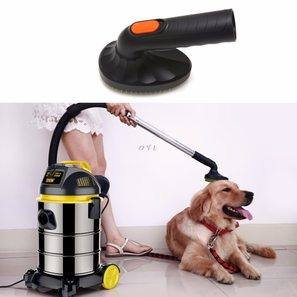 32mm Pet Cat Dog Grooming Brush Vacuum Cleaner Attachment Tool Loose Hair Groom32mm Pet Cat Dog Grooming Brush Vacuum Cleaner Attachment Tool Loose Hair Groom