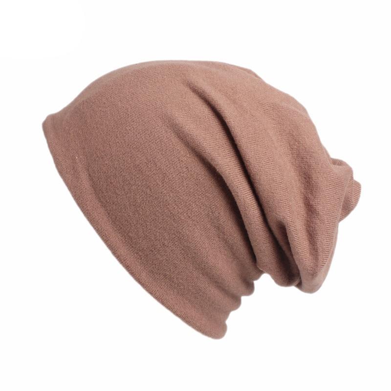 Fashion 2 Use Cap Knitted Scarf & Winter Hats for Women Solid Color Velvet Beanies Women Hip-hot Skullies girls Gorros Warm Caps цены онлайн