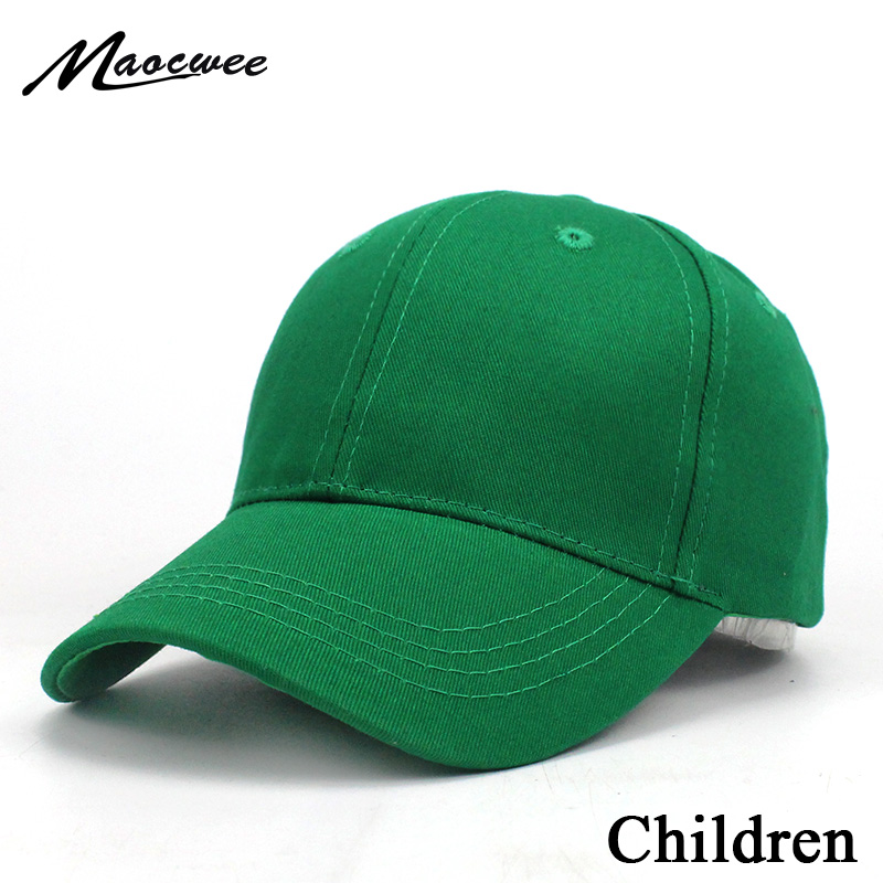 New Children Hats Kids Snapback Solid color   Baseball     Cap   Spring and summer shade sunscreen Boys&Girls   Caps   Hip Hop Hats 2018