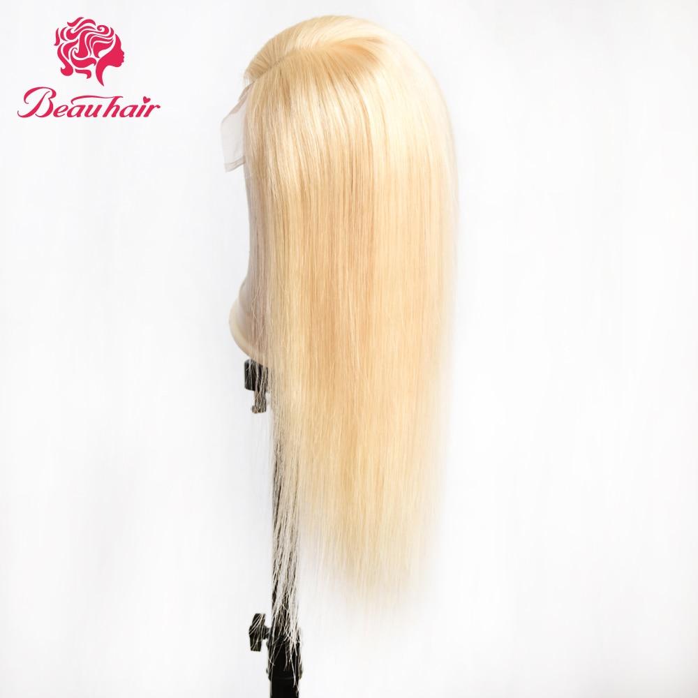 HTB1N8ttbErrK1RkSne1q6ArVVXav 4X4 Lace Closure Wigs #613 Honey blonde lace Closure Human Hair Wigs Remy Brazilian Human Hair 10-24inch Hair Wigs Beauty Wigs