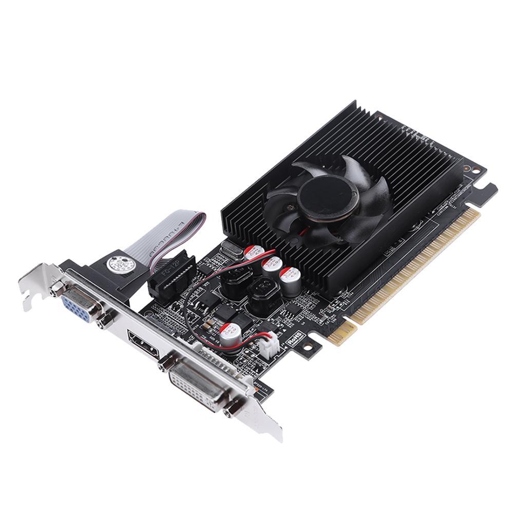 DDR3 64Bit 2G HDMI PCI-E Single Fan Game Video Graphics Card for NVIDIA Desktop vg 86m06 006 gpu for acer aspire 6530g notebook pc graphics card ati hd3650 video card