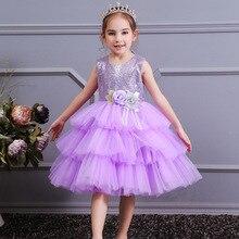 2019 Summer Girls Dress Kids Dresses For Girls Costume Flower Girls Wedding Dress Children Girls Princess