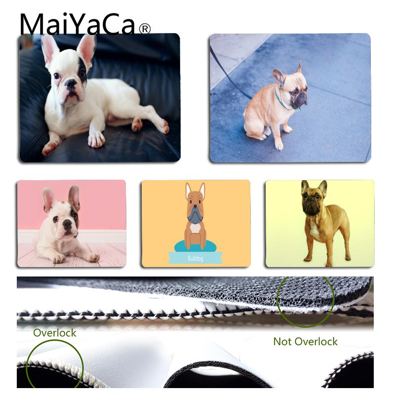maiyaca funny pocket french bulldog mouse pad for laptop