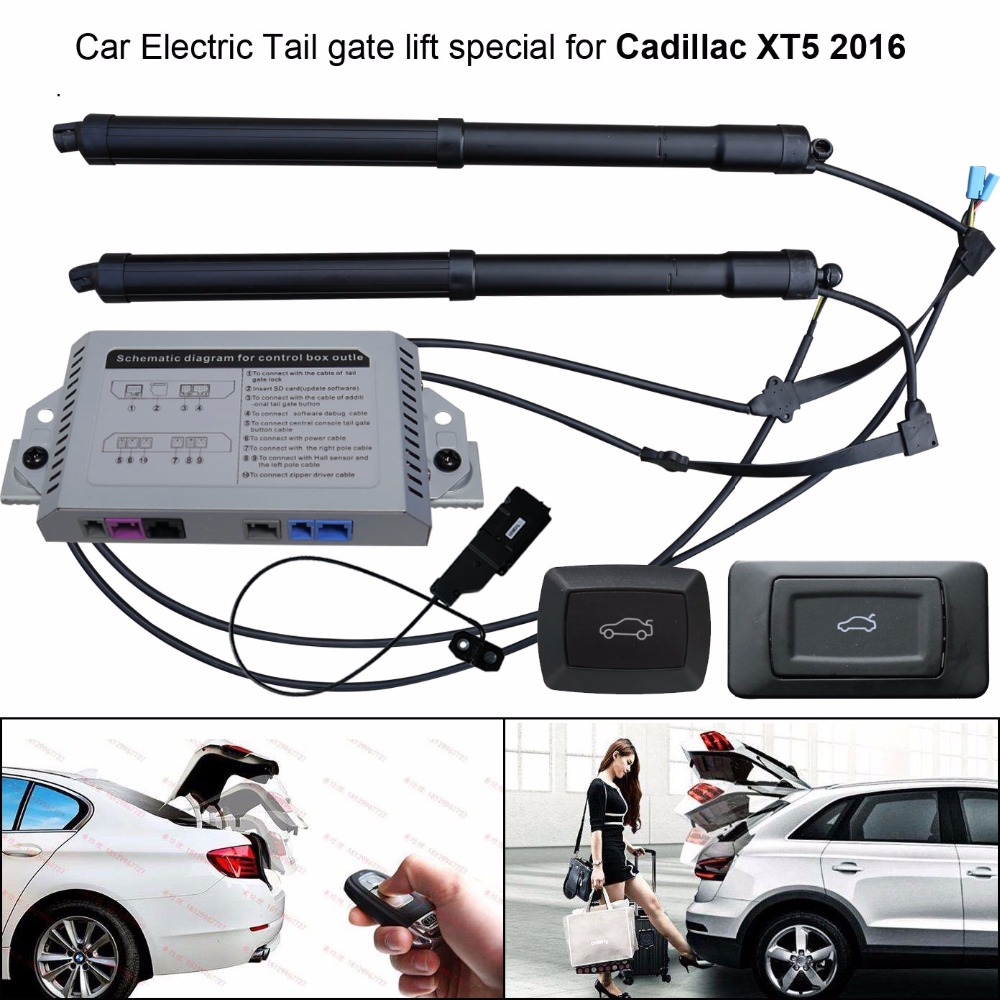 hight resolution of car electric tail gate lift special for cadillac xt5 2016 easily for you to control trunk with latch in trunk lids parts from automobiles motorcycles on