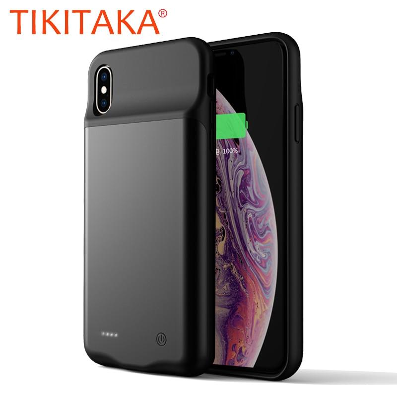 Drahtlose Batterie Ladegerät Fall Für iPhone XS Max Telefon Fällen für Apple iPhone X XR Xs Max Lade Fall Batterie power Bank Abdeckung