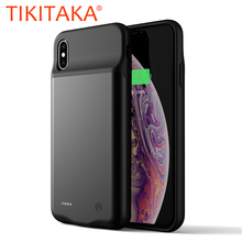 Wireless Battery Charger Case For iPhone XS Max Phone Cases for Apple iPhone X XR Xs Max Charging Case Battery Power Bank Cover